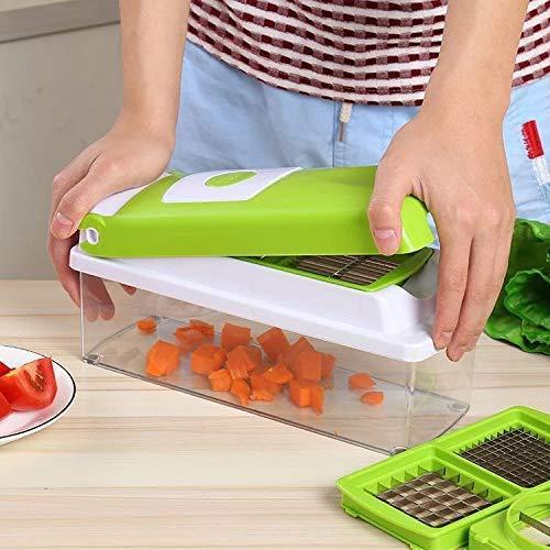 Kitchen Multipurpose 12 in 1 Fruits & Vegetables Chopper Slicer Grater - Unnati Enterprises