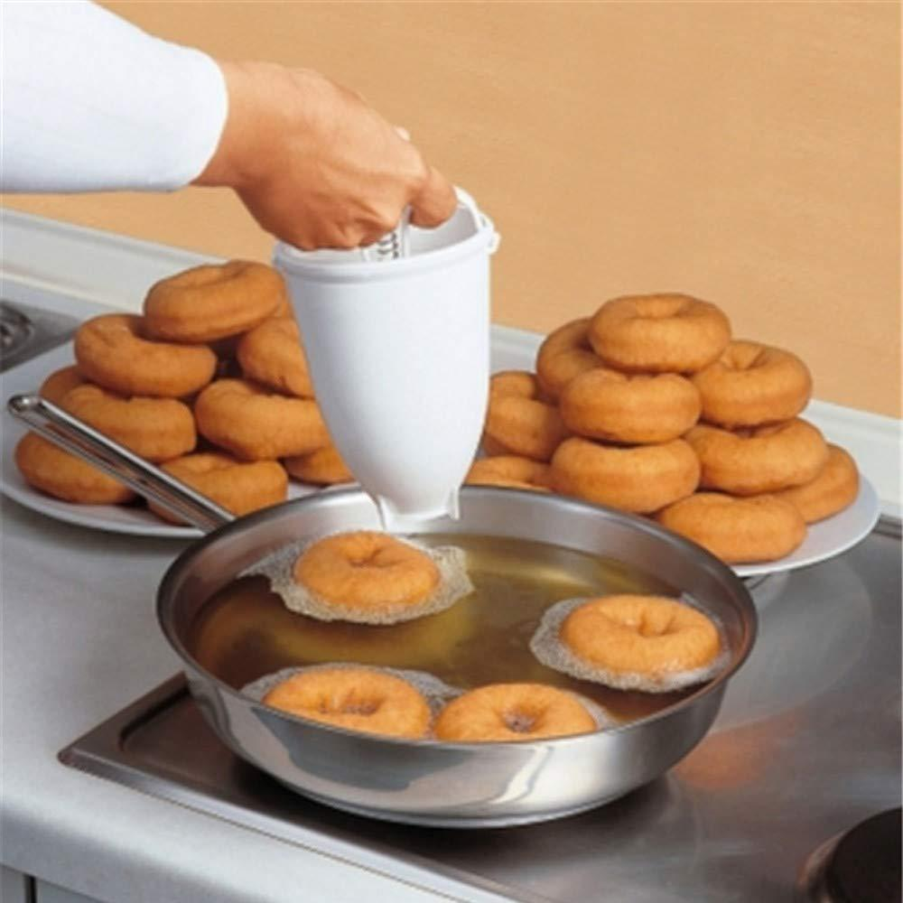 Mini Donut Maker Dispenser - Plastic Vada/Meduwada Maker - Unnati Enterprises