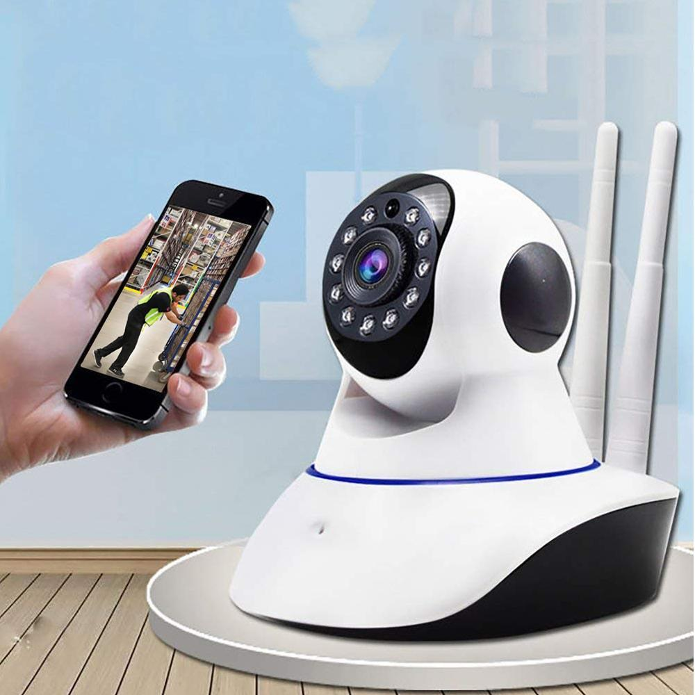 360? 1080P WiFi Home Security Camera - Unnati Enterprises
