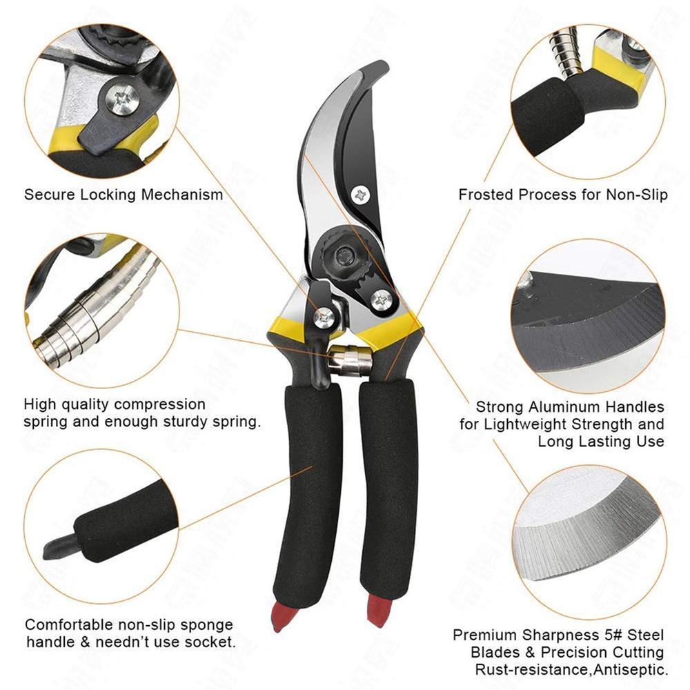 Garden Shears Sharp Cutter Pruners Scissor, Pruner - Unnati Enterprises