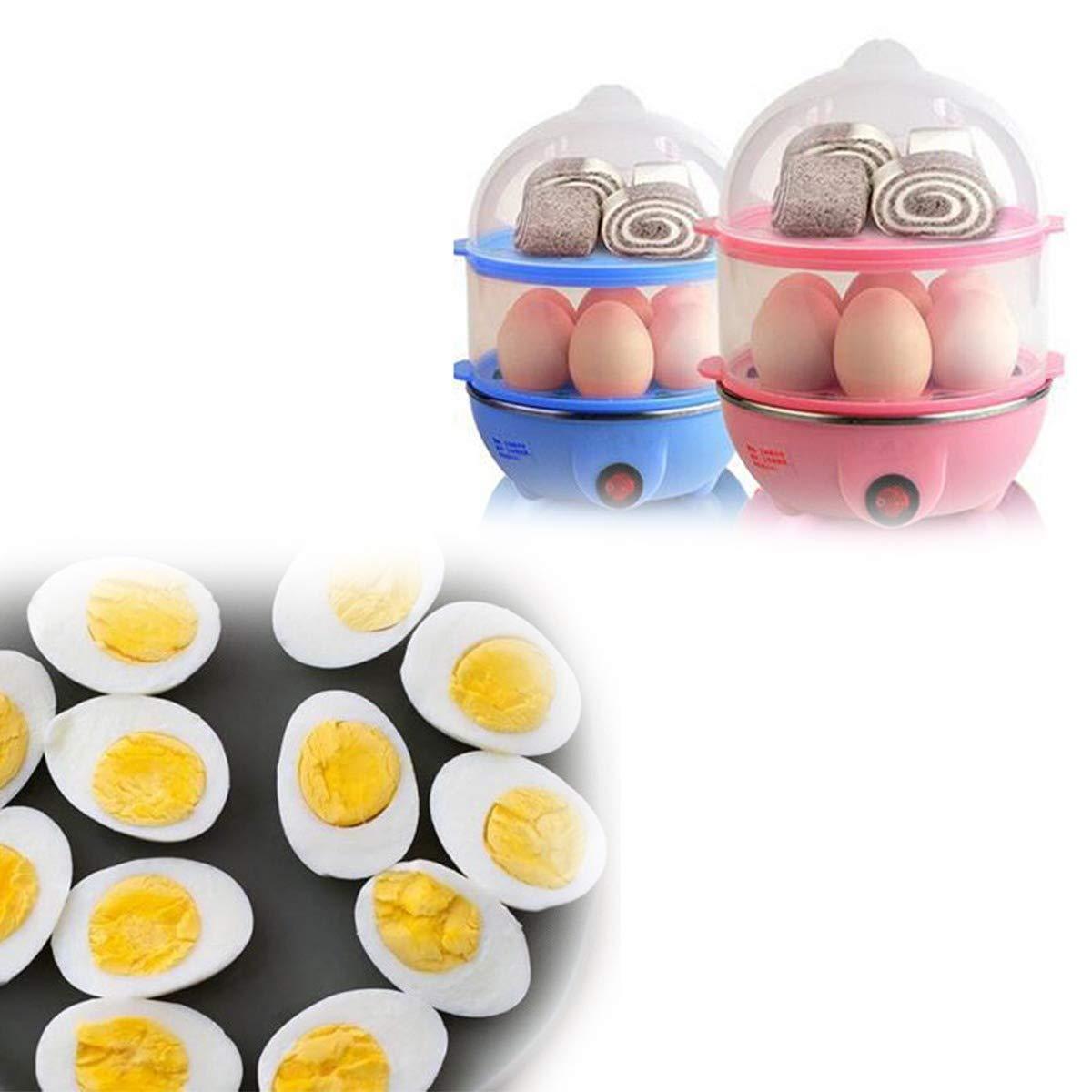 Multi-Function 2 Layer 14 Egg Cooker Boilers & Steamer - Unnati Enterprises