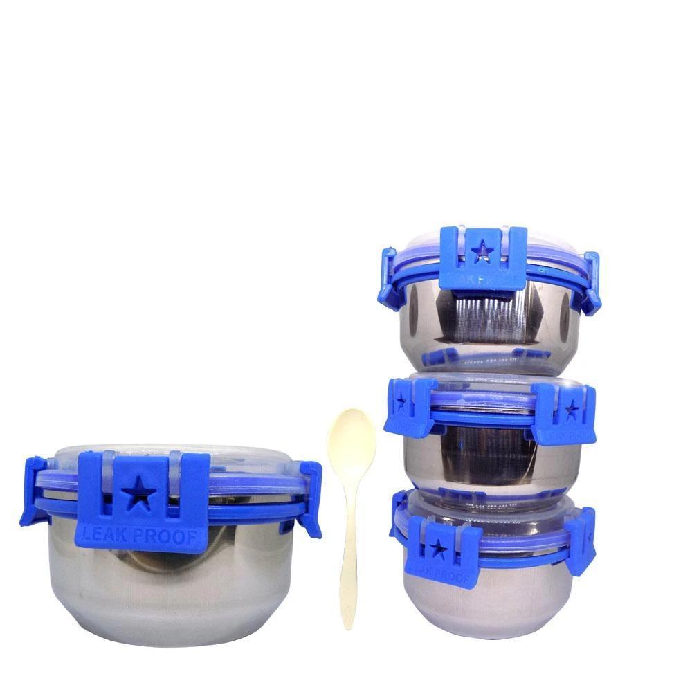 Stainless Steel Lunch Box (Tiktok Tiffin) - Unnati Enterprises