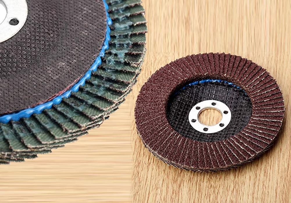 Abrasive Flap Disc Sanding Grinding Wheel, Polishing Wheel Grinding Disc (100 X 16 mm) - Unnati Enterprises