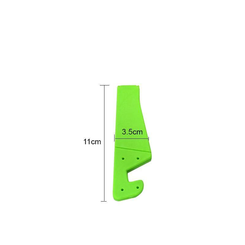Universal Phone Stand Foldable V Shape Mobile Mount Stand Holder Bracket (Random Color) (Pack of 4) - Unnati Enterprises