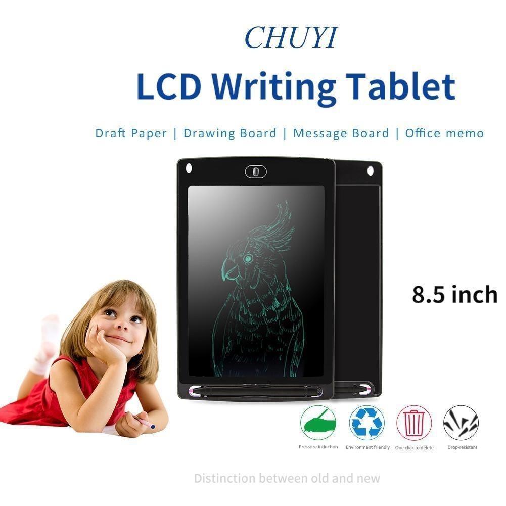 8.5'' inch Digital LCD Writing Drawing Tablet Pad Graphic eWriter Boards Notepad - Unnati Enterprises