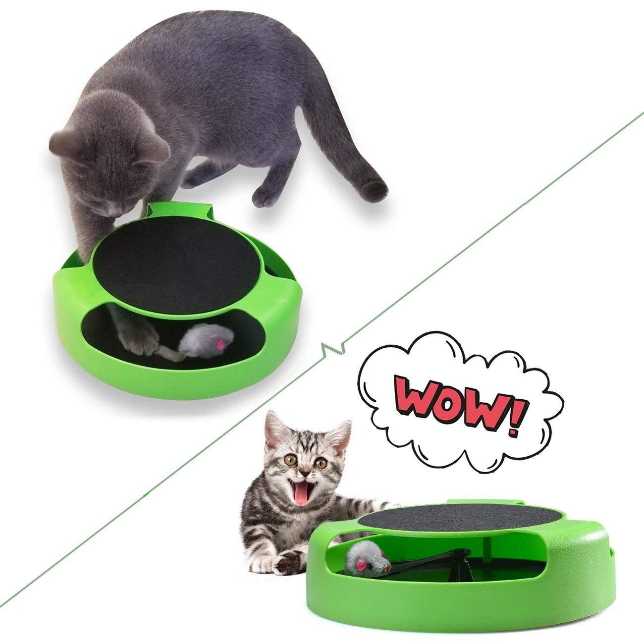 Cat Interactive Toy (Cat Scratching Pad) - Unnati Enterprises