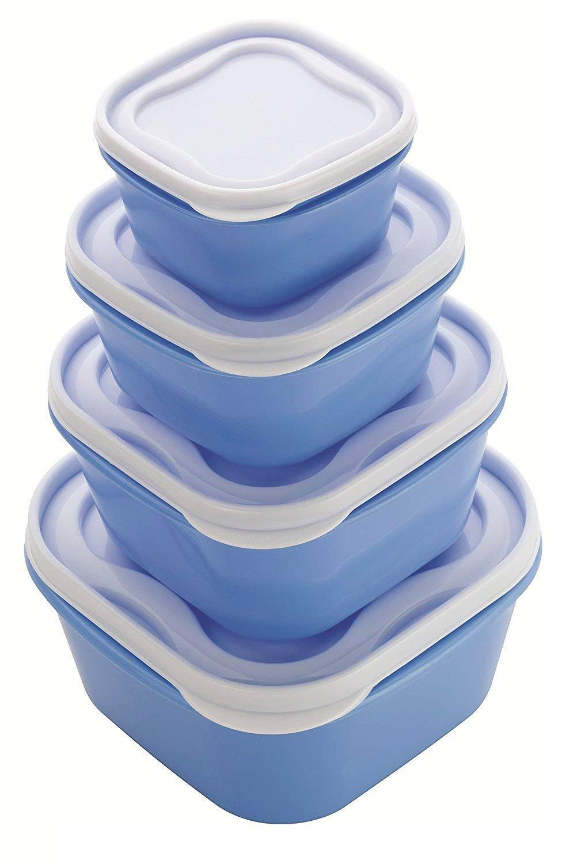 Kitchen Food Storage Multiuse Food Saver 4pc - Unnati Enterprises