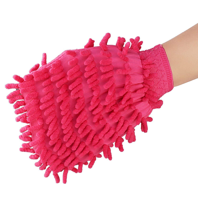 double sided microfiber hand glove duster - Unnati Enterprises