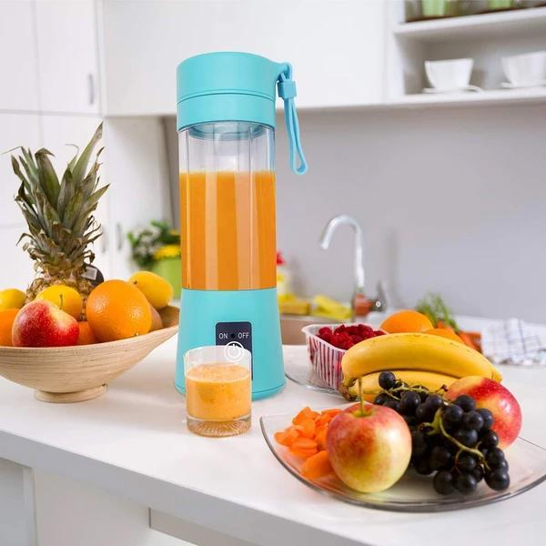 Portable USB Electric Juicer - 6 Blades (Protein Shaker) - Unnati Enterprises
