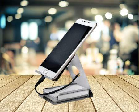 Mobile Phone Metal Stand (Silver) - Unnati Enterprises