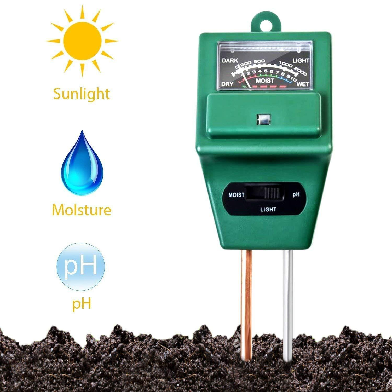 3 Way Soil Meter (pH Testing Meter) - Unnati Enterprises