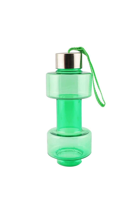 Steel Cap Plastic water Dumbbells Bottle - Unnati Enterprises