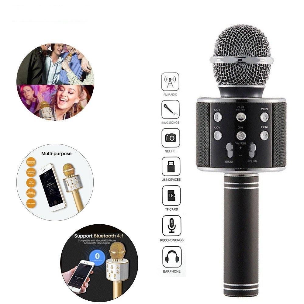 Bluetooth Microphone Player speaker (Karaoke) - Unnati Enterprises