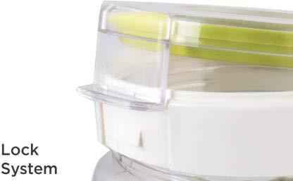 TIK Tak Plastic Airtight Ovel 1.4 Litre Containers - Unnati Enterprises
