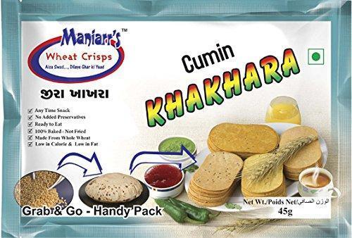 Jeera Khakhra (Pack of 8) - Unnati Enterprises