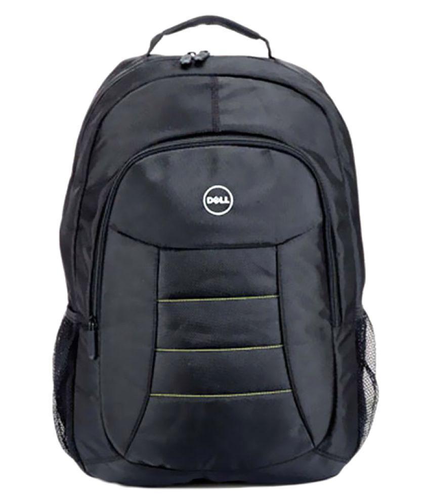 Dell Polyester Black Laptop Bag - Unnati Enterprises