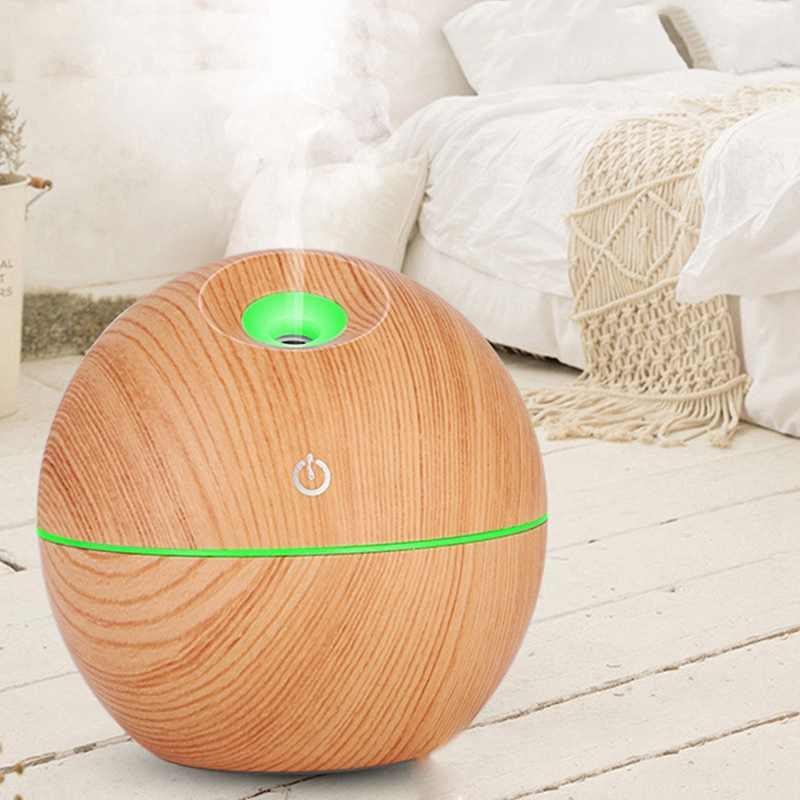 Wood Grain Humidifier Ultrasonic Air Humidifier - Unnati Enterprises