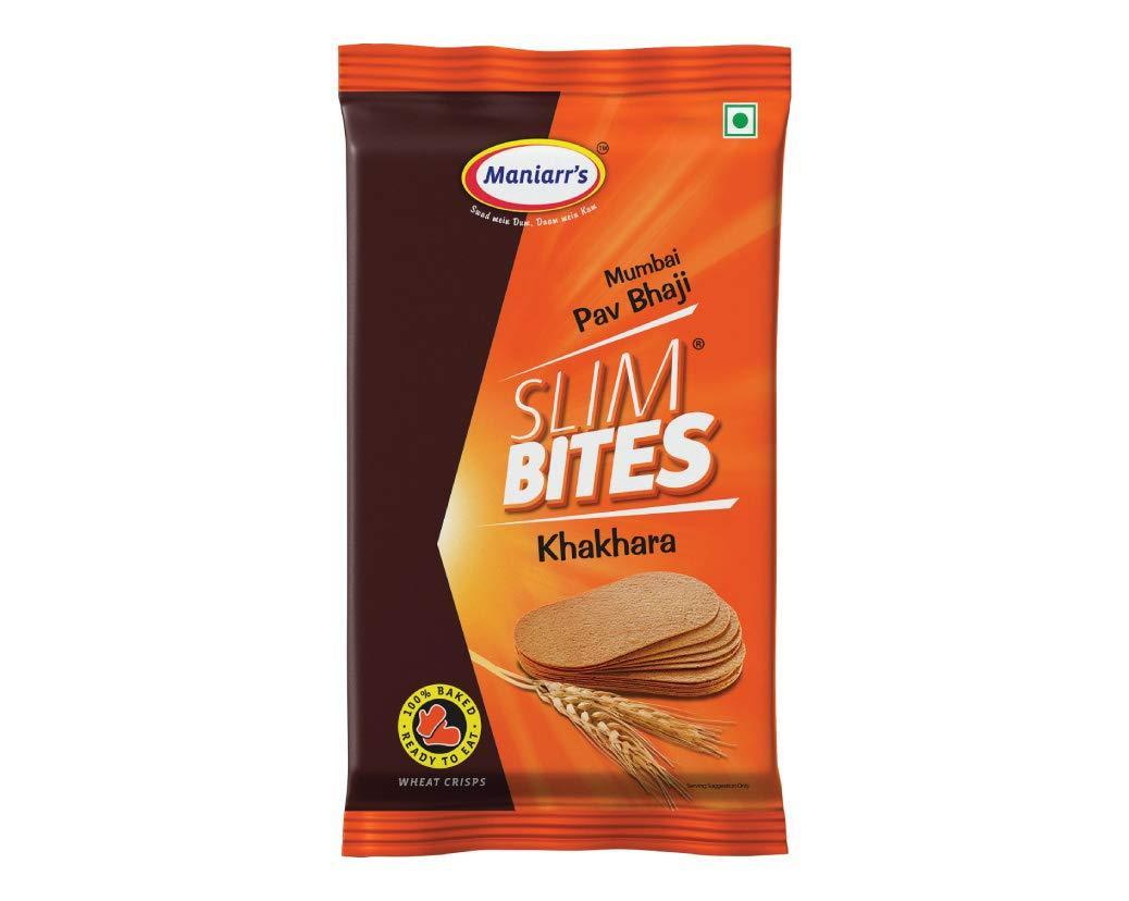 A3 Slim bites khakhra (Pack of 8) - Unnati Enterprises