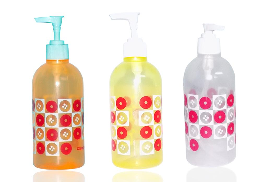 Transparent, Refillable, Plastic, Multi-Purpose Lotion Pump Bottles (1pc) - Unnati Enterprises