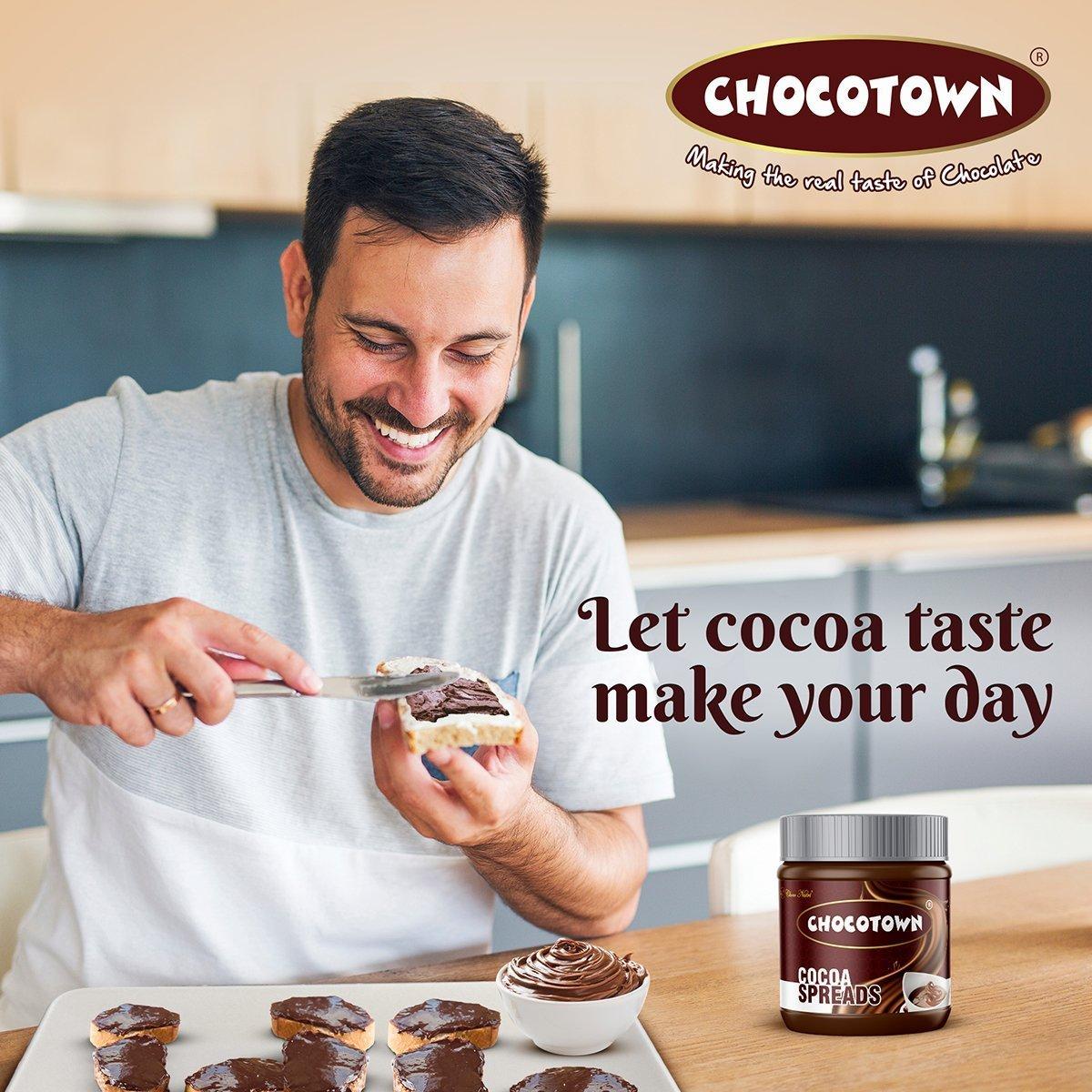 Choco Nutri Chocolate Spreads - Premium Dark Chocolate Spread -  gm - Unnati Enterprises