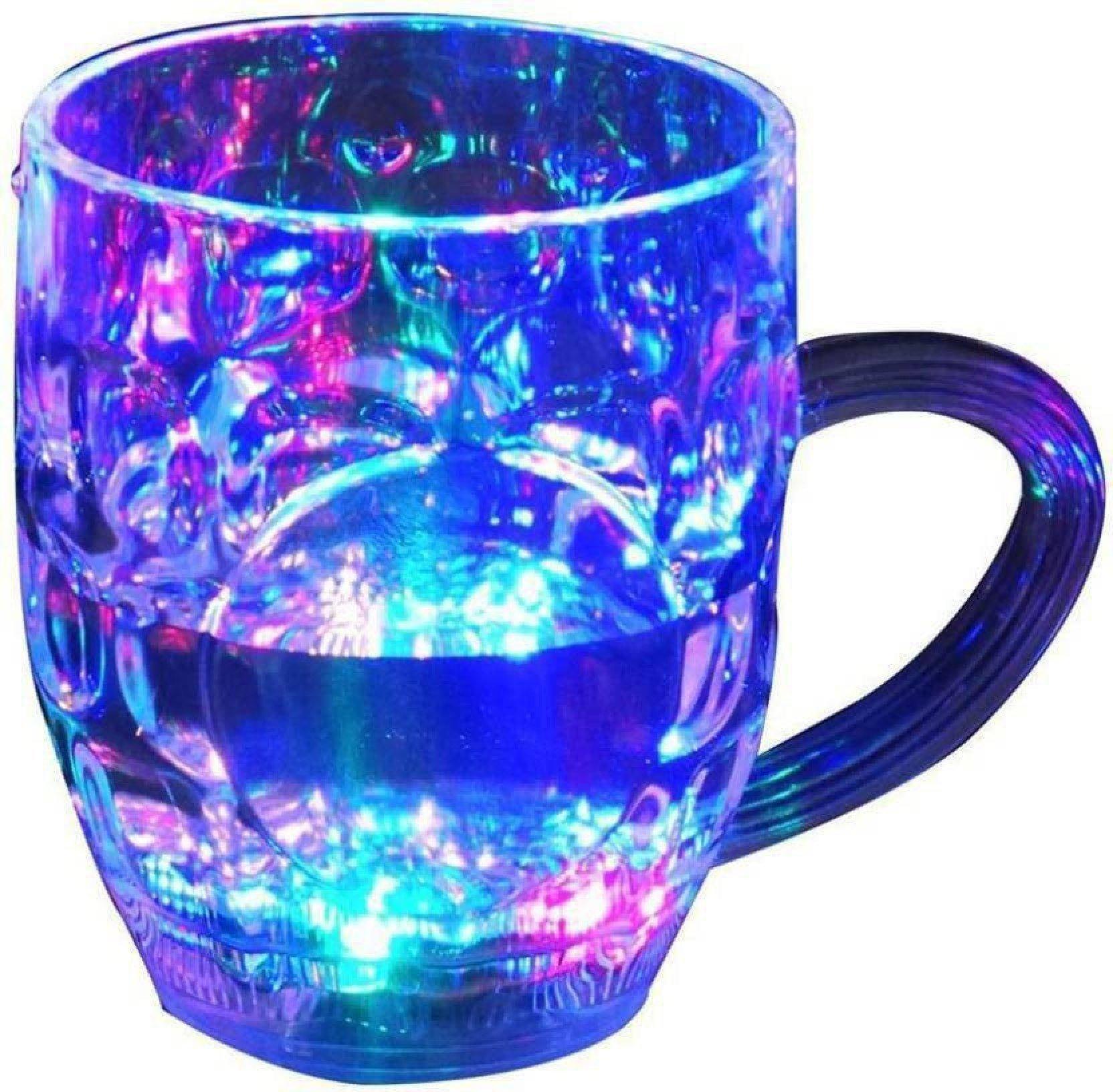 Led Glass Cup (Rainbow Color) - Unnati Enterprises