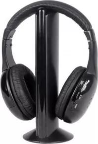 Roaming Wireless Over-Ear Headphones (Black) - Unnati Enterprises
