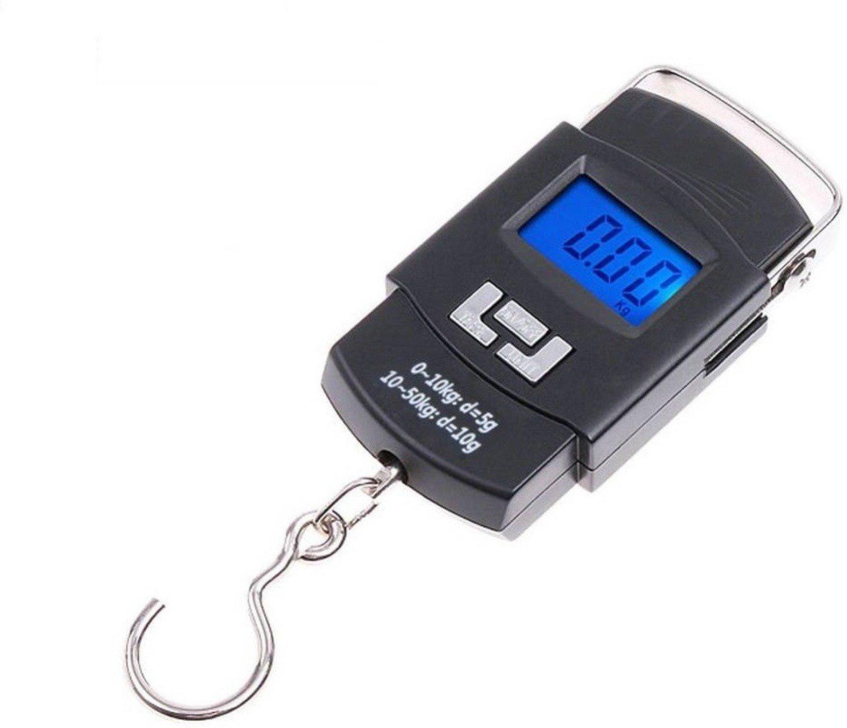 Digital Portable Hook Type Weighing Scale (50 kg, Multicolor) - Unnati Enterprises